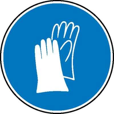 gebotsschilder handschutz benutzen apro arbeitsschutzprodukte mit sicherheit gut. Black Bedroom Furniture Sets. Home Design Ideas